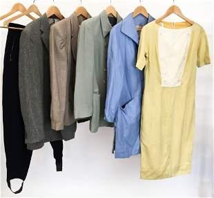 Lot of 7 Vintage Designer Ladies Clothing Armani, Dior