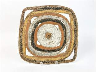 Papua New Guinea Woven Basketry Shield