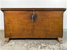 18th C. Spanish Colonial Wood Chest