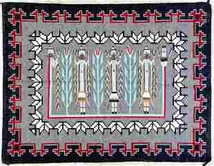 Amy Charley Navajo Yei Rug