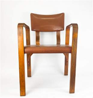 Thonet Mid-Century Bentwood Armchair