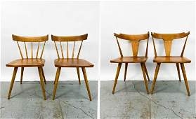 Lot of 4 Paul McCobb (1917-1969) Planner Group Chairs