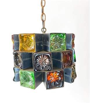 Felipe Delfinger for Feders Glass Pendant Light Mexico