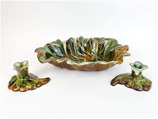 Lot of 3 Vintage Anna Van Briggle Art Pottery