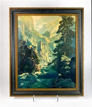 Maxfield Parrish (1870-1966) Lithograph Colorado