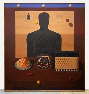 Richard Ryan (b. 1950) Oil on Canvas 1995