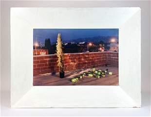 Lynn Aldrich (b. 1944) Signed Photograph & Custom Frame