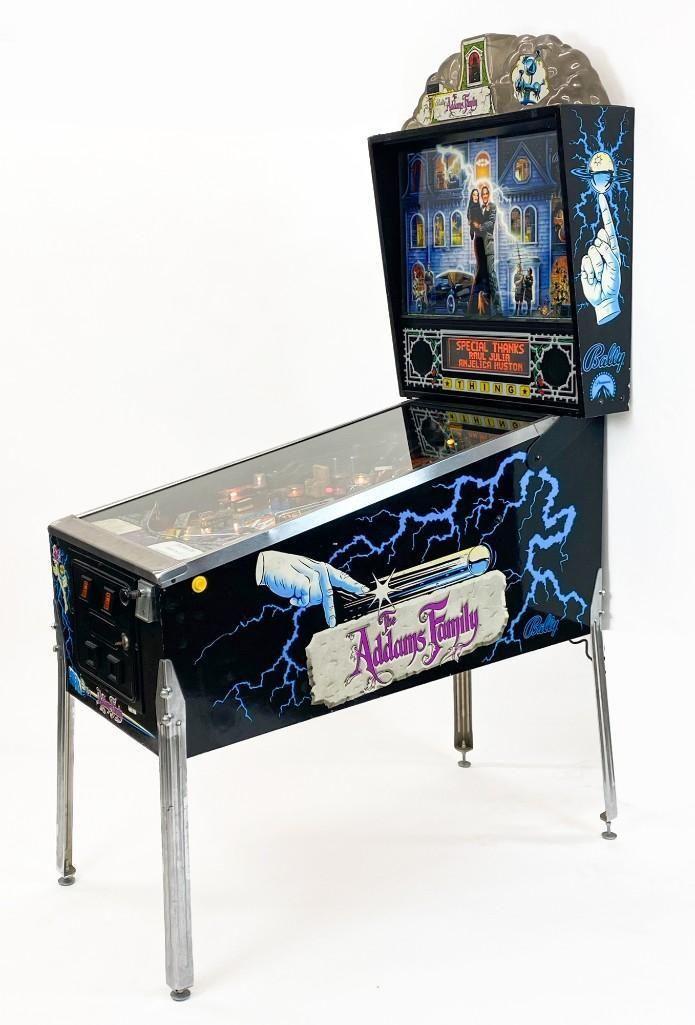 Addams Family Pinball Machine