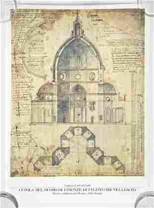 Cupola Del Dumo Di Firenze Di Filippo Brunelleschi