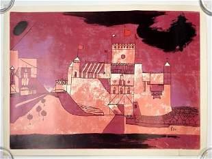 Paul Klee Unsigned Print