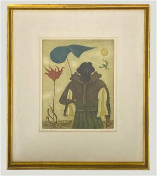 Erich Brauer (1895-1942) Pencil Signed Print 13/60