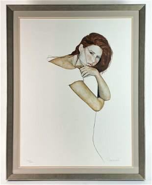 Christine Rosamond (1947-1994) Litho Signed 1015/2000