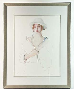 Christine Rosamond (1947-1994) Litho Signed AP COA