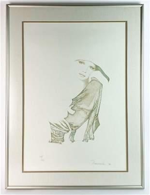 Christine Rosamond (1947-1994) Litho Signed 134/240 COA