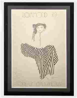 Christine Rosamond (1947-1994) Litho Signed 560/700