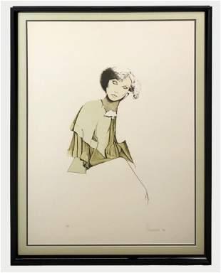 Christine Rosamond (1947-1994) Litho Signed AP
