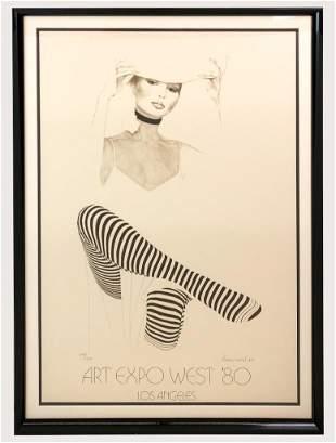 Christine Rosamond (1947-1994) Litho Signed 773/950