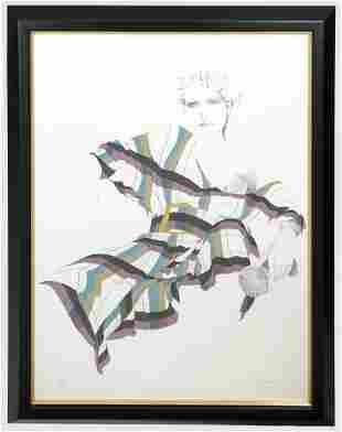 Christine Rosamond (1947-1994) Litho Signed A/P