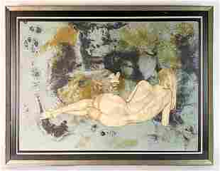 Christine Rosamond (1947-1994) Lithograph 157/300