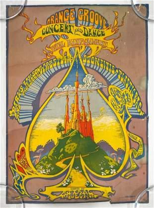 Bill Ogden Orange Groove Concert Poster