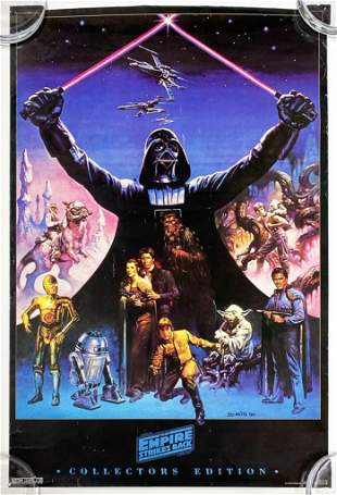 Empire Strikes Back 1994 Poster Western Graphics