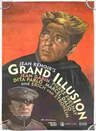 Paul Davis Jean Renoir's Grand Illusion 1999 Poster