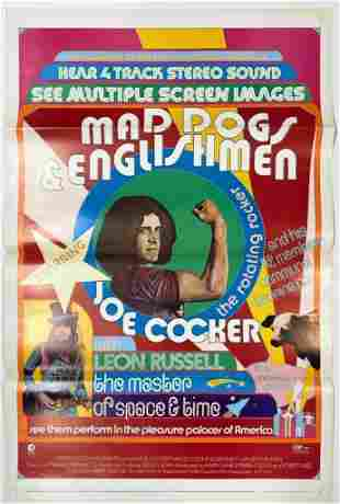 Mad Dogs and Englishmen 1970 Movie Poster One Sheet