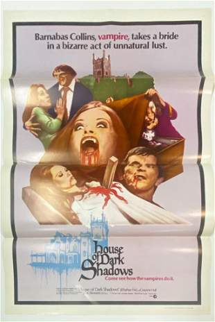 House of Dark Shadows 1970 Poster One Sheet