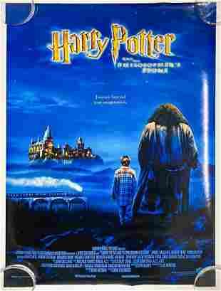 Harry Potter Philosopher's Stone 2001 Poster Warner