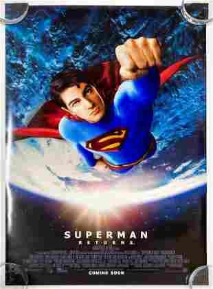 Superman Returns 2006 Poster Warner Brothers DC Comics