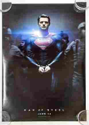 Man of Steel Superman 2012 Poster Warner Bros. DC