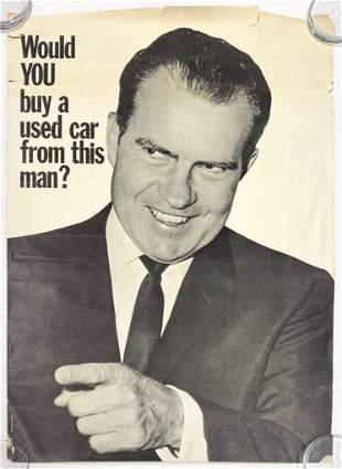 Vintage Richard Nixon Poster