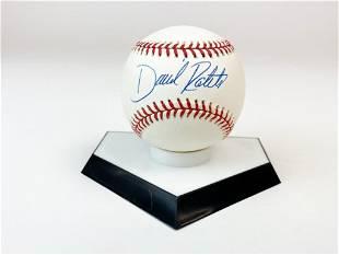 David Roberts Signed Baseball