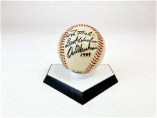 Orel Hershiser Signed Baseball