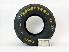 Authentic Dale Earnhardt Driven Goodyear Tire