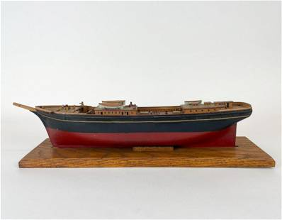 Joe Duncan Gleason (1881-1959) Model Ship