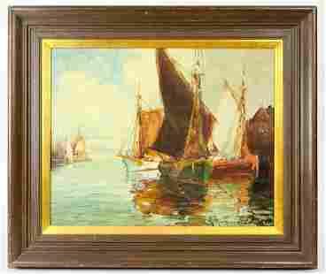 George Thompson Pritchard (1878-1962) Oil on Canvas