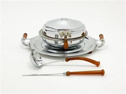 Manning Bowman Waffle Iron Bakelite Handles No. K1629