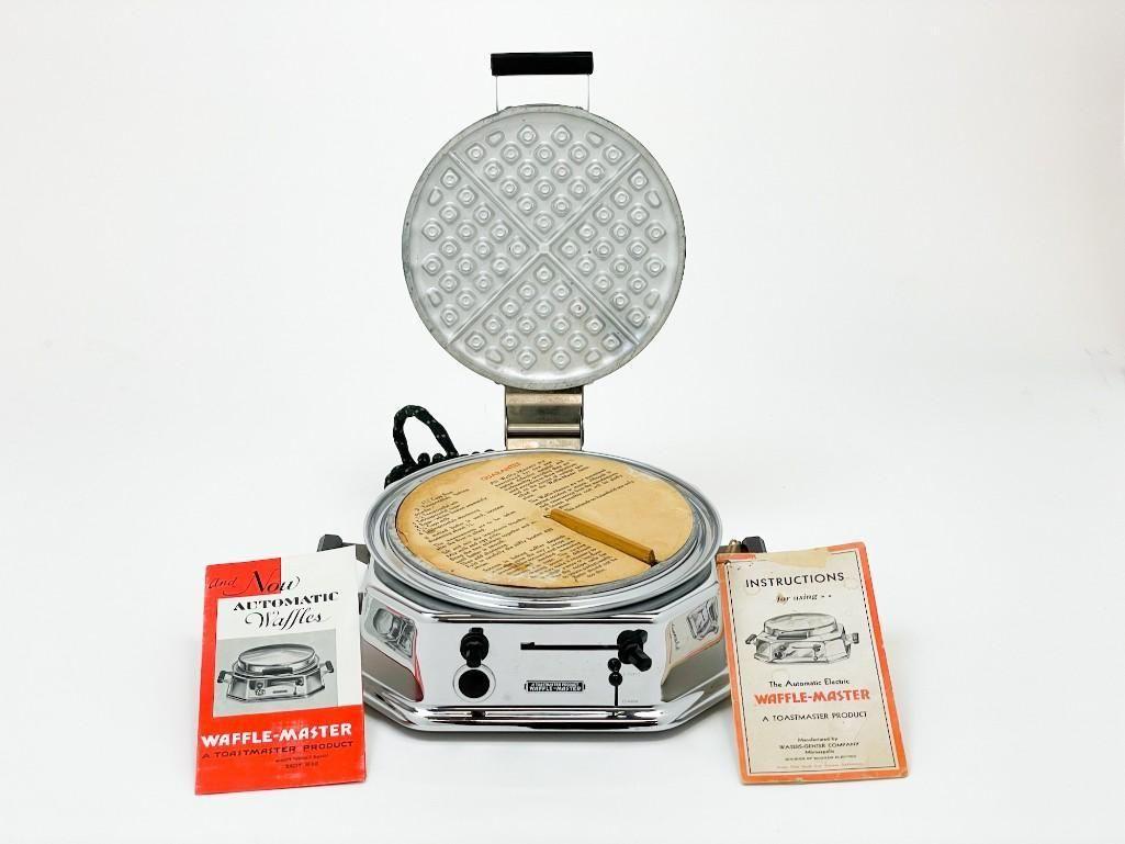 Toastmaster Waffle-Master Waffle Iron 1930 Model 2C1