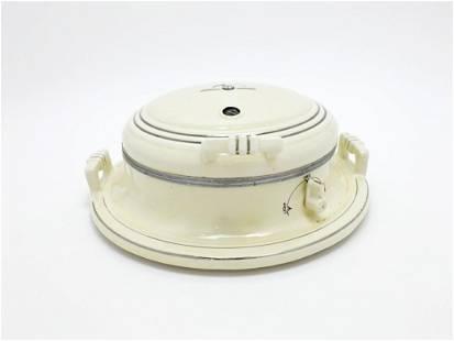 Porcelier Porcelain Waffle Iron Electric 1930s No. 451