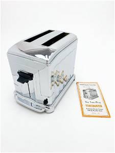 Toastmaster Automatic 2 Slice Toaster Chrome 1935