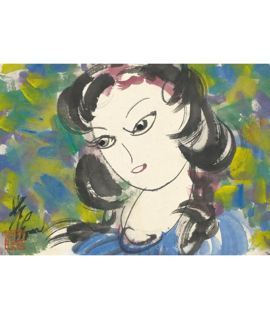 Lin Feng-Mian (1900-1991) Lady