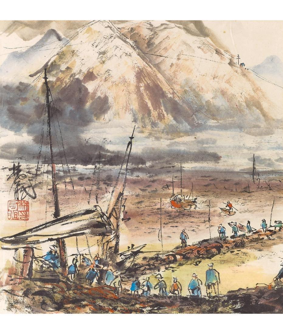 Lin Feng-Mian (1900-1991) Landscape