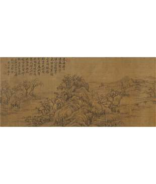 Attributed To Yun Shou-Ping, Landscape