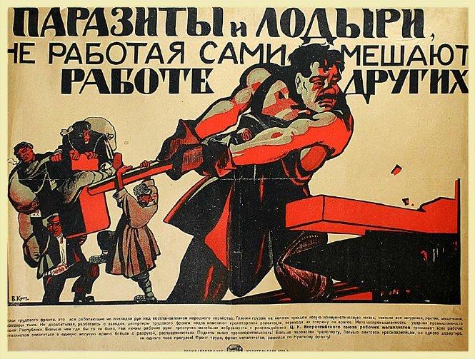 KOSTYANITSIN, V. PARASITES AND LOAFERS…, 1920