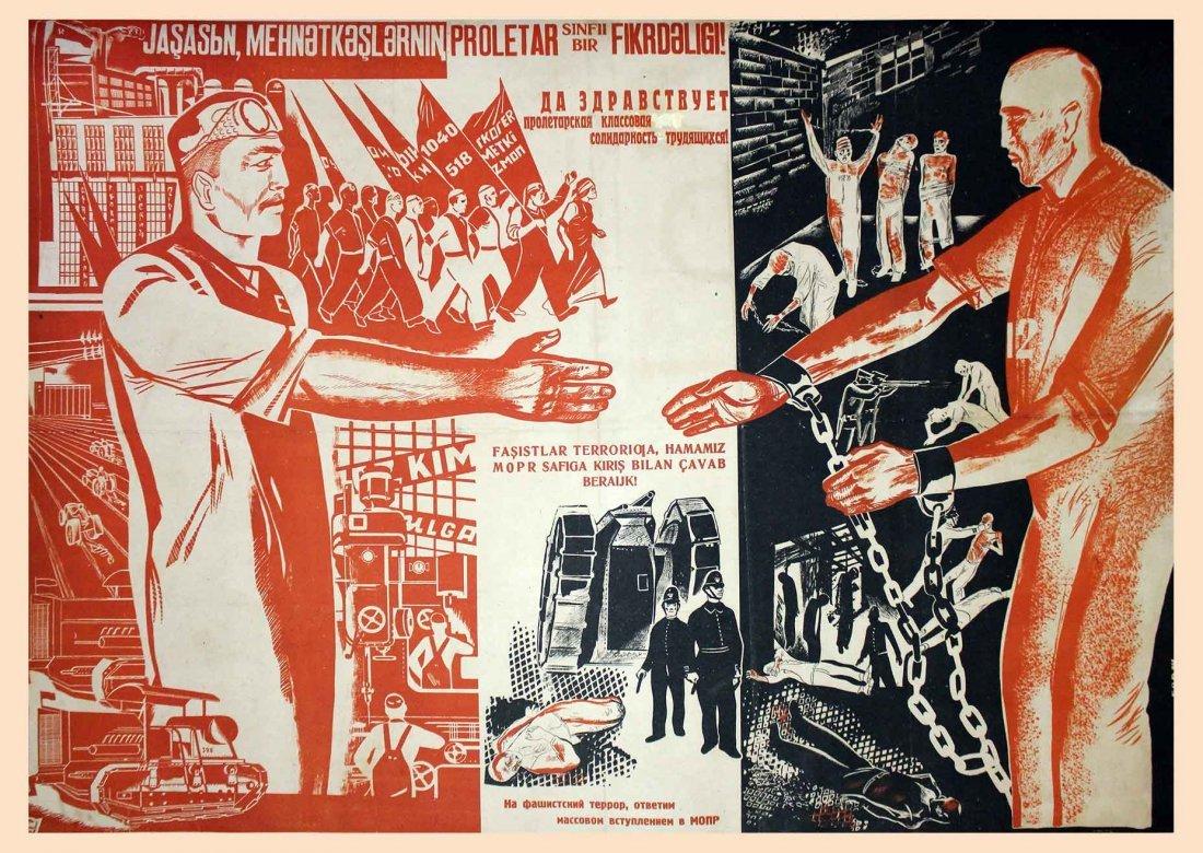 ZHUKOV , N. LONG LIVE THE PROLETARIAN CLASS.. 1933