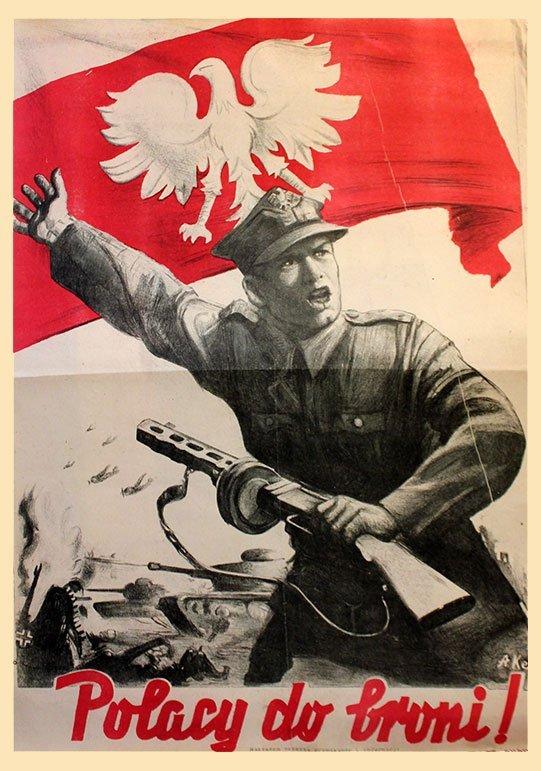 EK, S. POLISH PEOPLE, TO ARMS!, 1944.