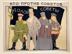 MOOR, D. Who is against Soviet. 1919