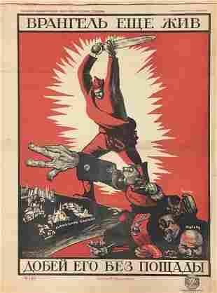 MOOR, D. Vrangel is still live, 1920