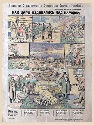 Krylov N. How the kings mocked the people, 1918